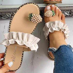 Shoes - Pineapple Sandals 🍍👡😍